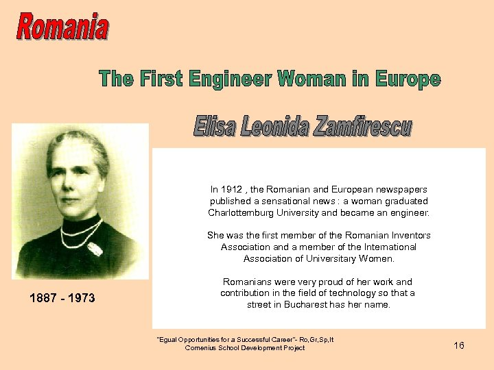 In 1912 , the Romanian and European newspapers published a sensational news : a