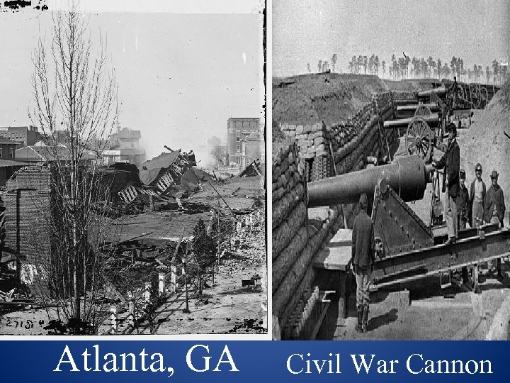 Atlanta, GA Civil War Cannon