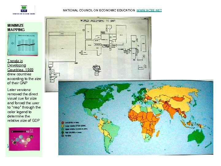 NATIONAL COUNCIL ON ECONOMIC EDUCATION WWW. NCEE. NET MINIMIZE MAPPING Trends in Developing Countries,