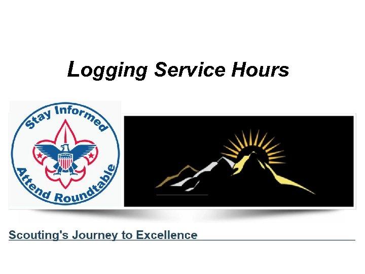 Logging Service Hours