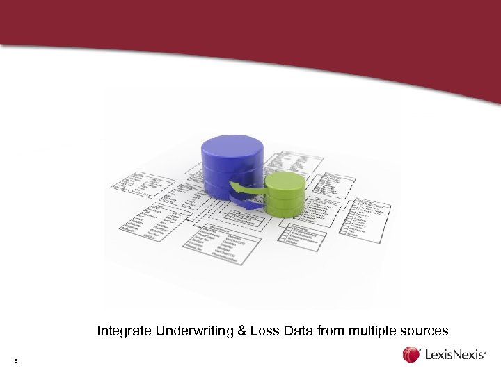 Integrate Underwriting & Loss Data from multiple sources 6