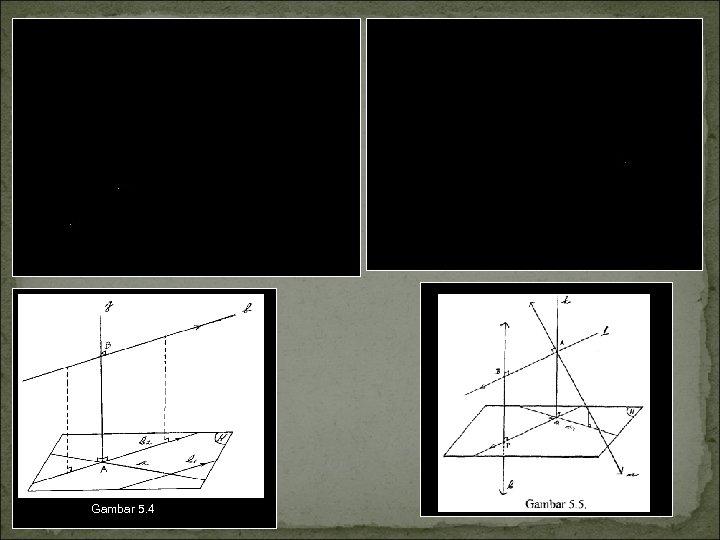 Dua cara atau langkah untuk menentukan jarak antara dua garis a dan b yang