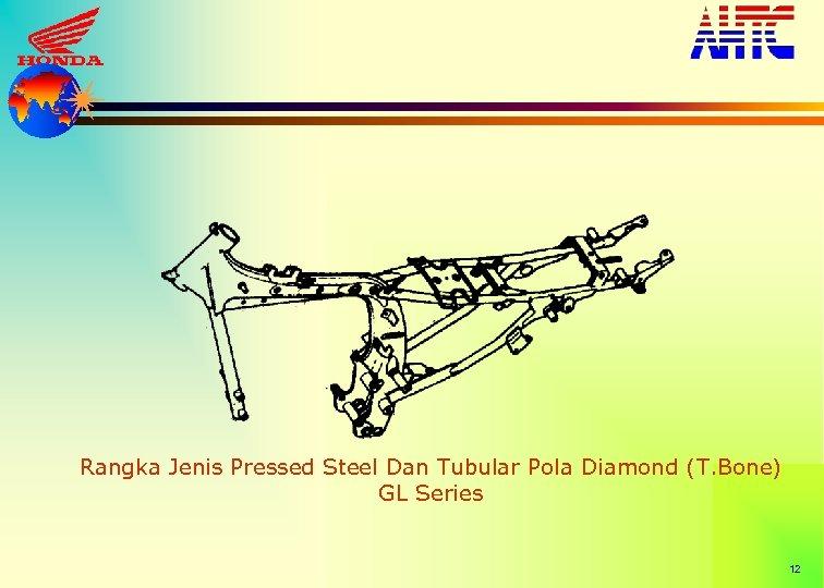 Rangka Jenis Pressed Steel Dan Tubular Pola Diamond (T. Bone) GL Series 12