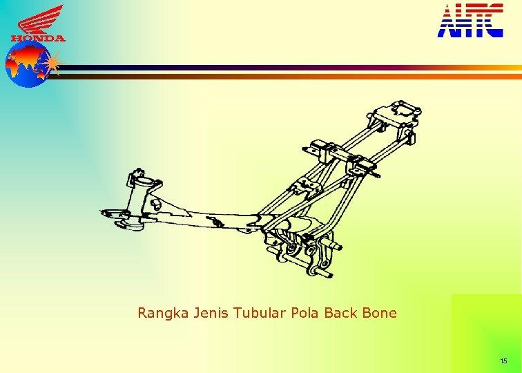 Rangka Jenis Tubular Pola Back Bone 15