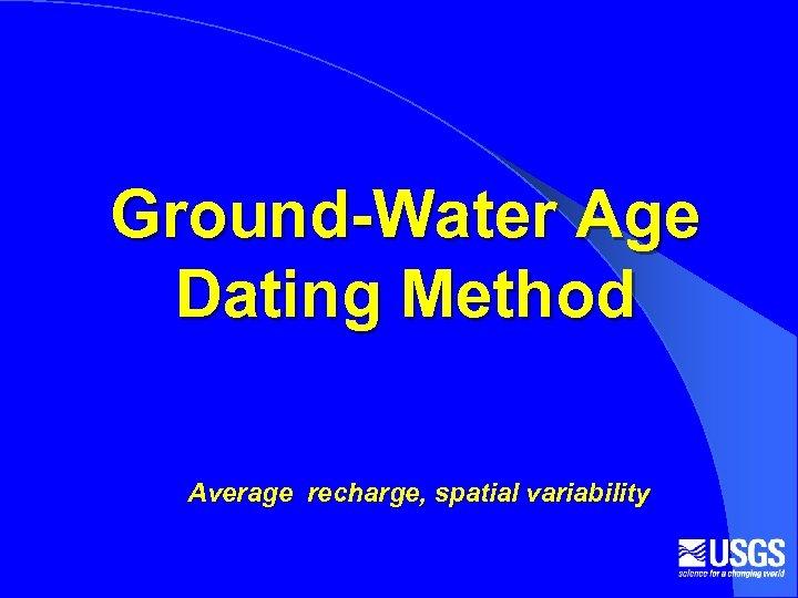 CFC water dating Dating hoger opgeleiden vergelijken
