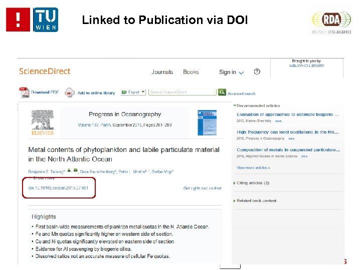 Linked to Publication via DOI