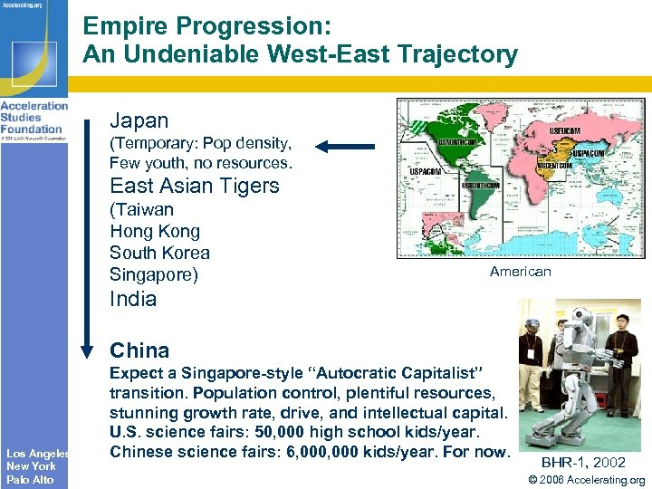 Empire Progression: An Undeniable West-East Trajectory Japan (Temporary: Pop density, Few youth, no resources.
