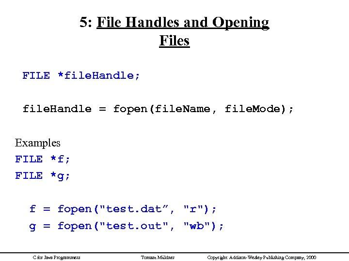 Top Five C Open File Fopen_s - Circus