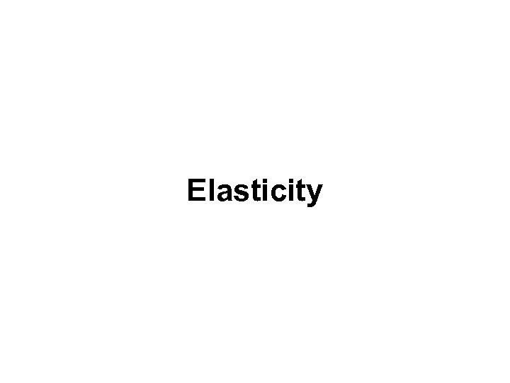 Income Elasticity (Normal Goods) Elasticity