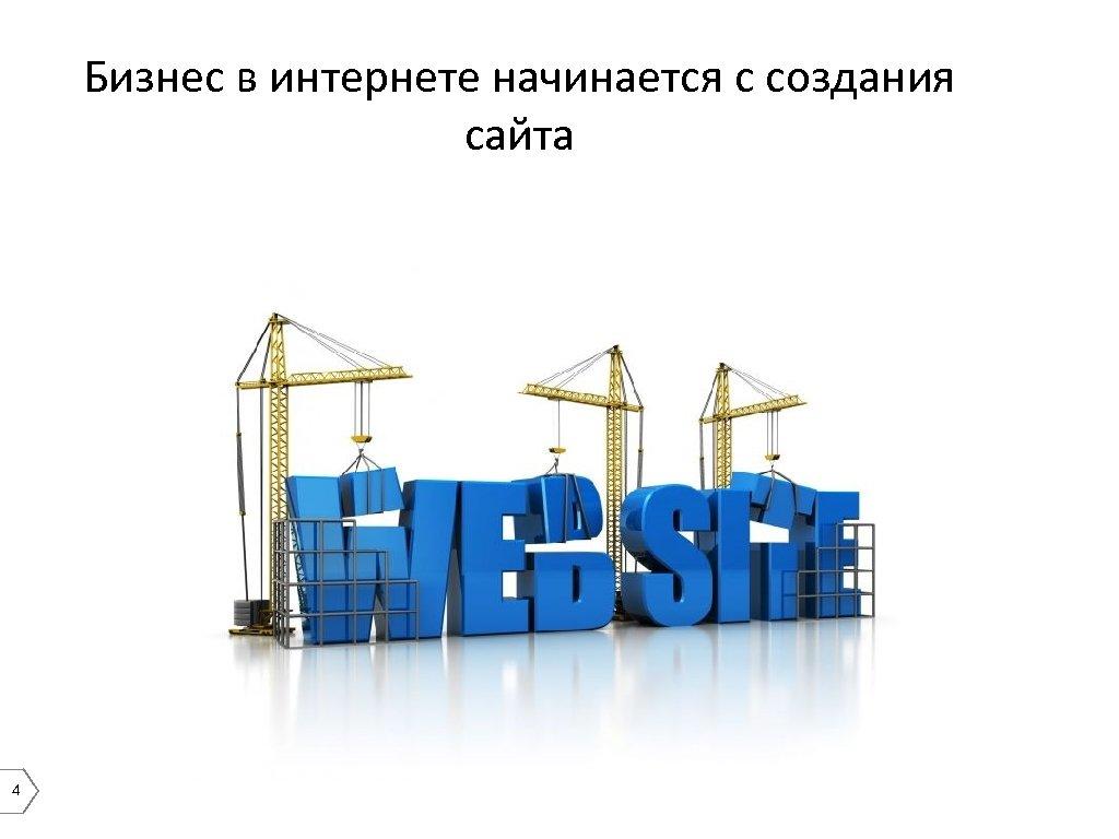 Бизнес в интернете начинается с создания сайта 4
