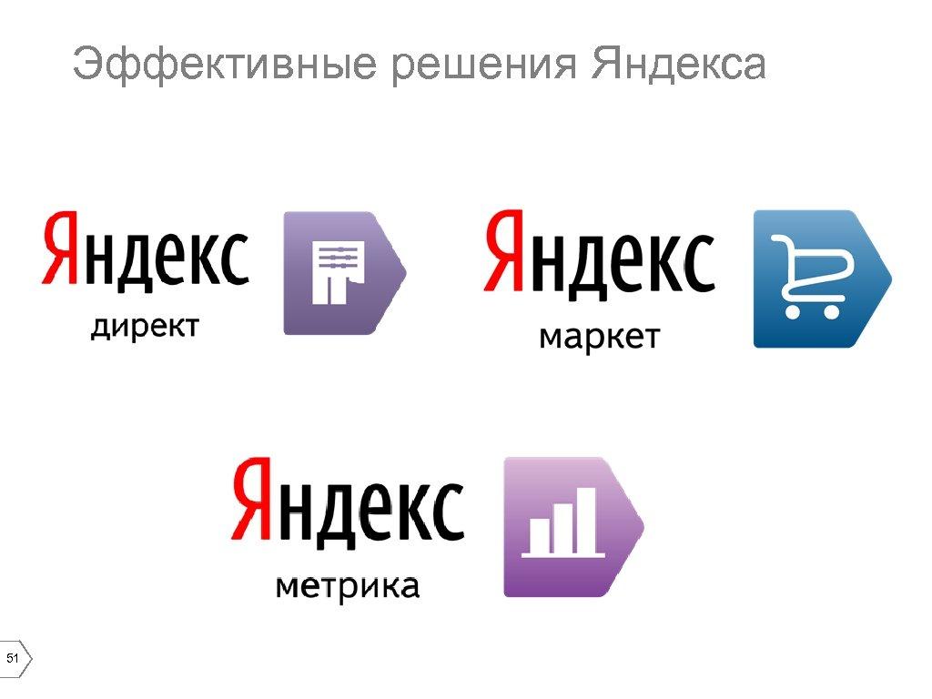 Эффективные решения Яндекса 51