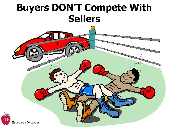 Buyers DON'T Compete With Sellers Economics for Leaders