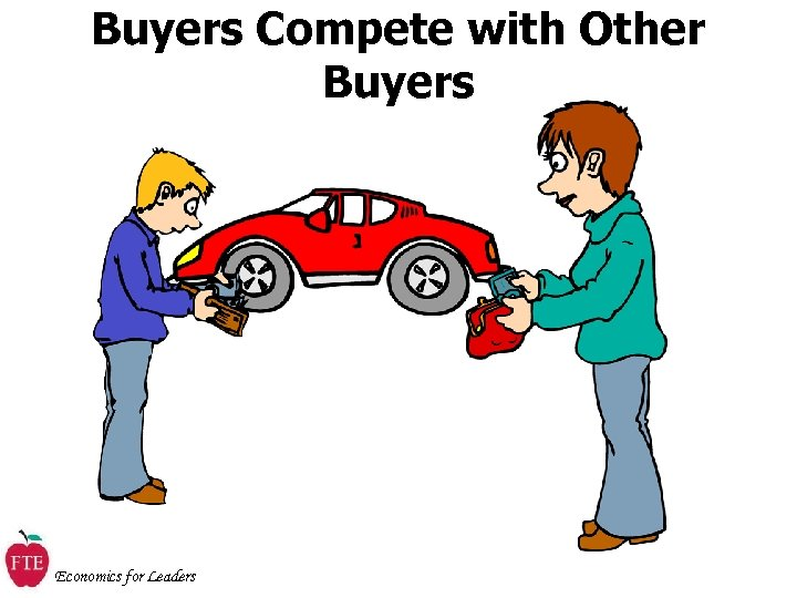 Buyers Compete with Other Buyers Economics for Leaders