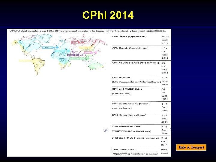 CPh. I 2014 Hale & Tempest