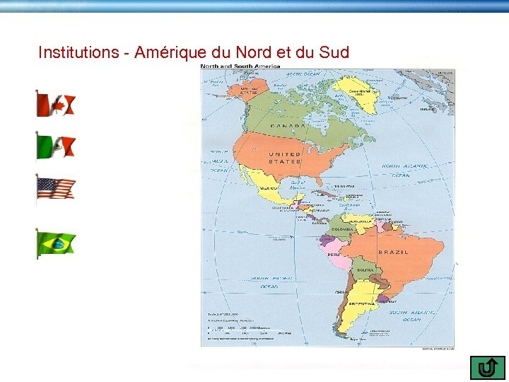 Institutions - Amérique du Nord et du Sud