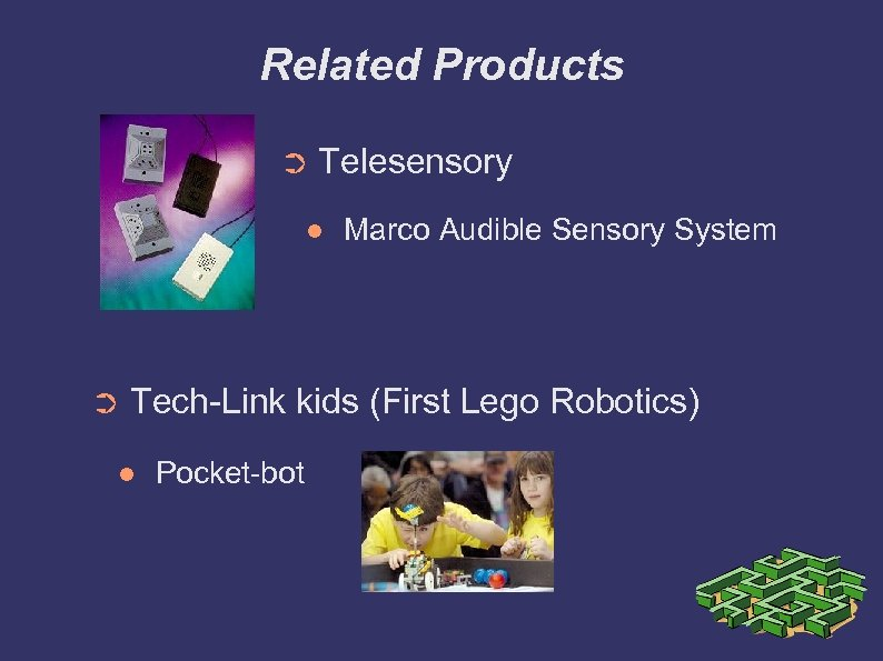 Related Products ➲ Telesensory ➲ Marco Audible Sensory System Tech-Link kids (First Lego Robotics)