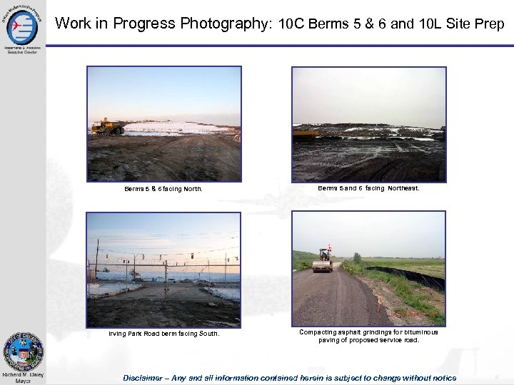 Work in Progress Photography: 10 C Berms 5 & 6 and 10 L Site