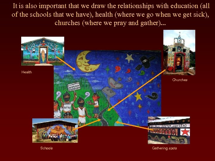 It is also important that we draw the relationships with education (all of