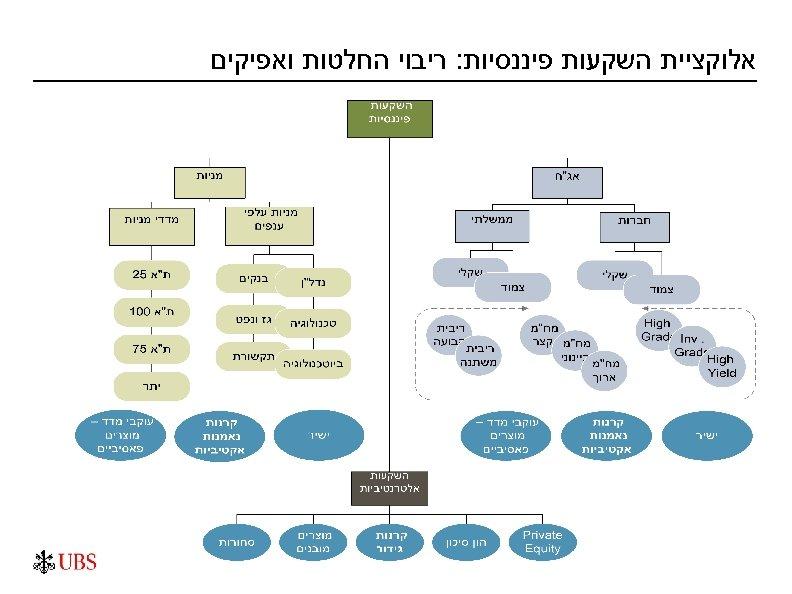 אלוקציית השקעות פיננסיות: ריבוי החלטות ואפיקים