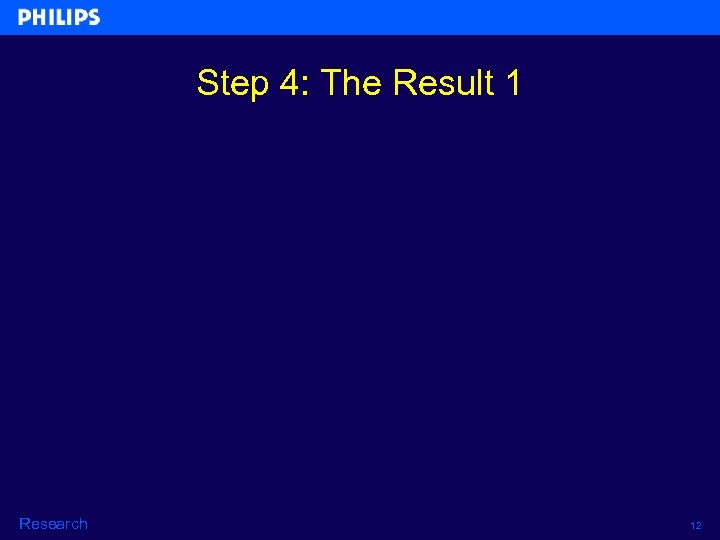 Step 4: The Result 1 Research 12