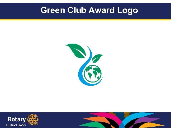 Green Club Award Logo 2