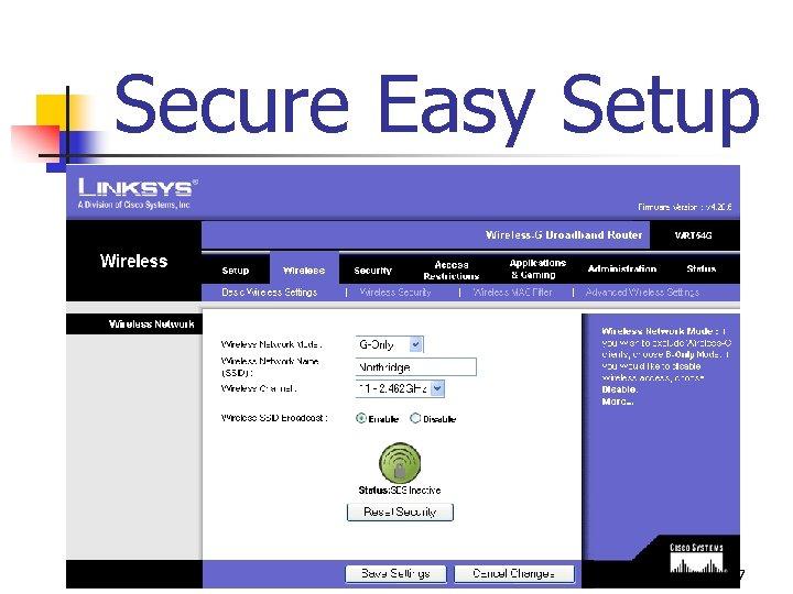 Secure Easy Setup 77