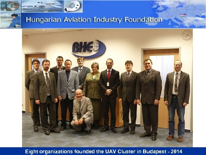 Eight organizations founded the UAV Cluster in Budapest - 2014