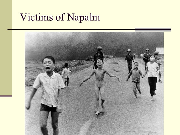 Victims of Napalm