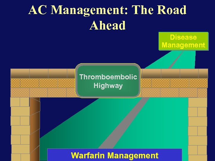 AC Management: The Road Ahead Disease Management Thromboembolic Highway Warfarin Management