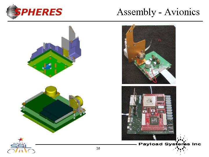 SPHERES Assembly - Avionics 26