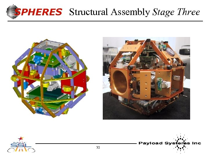SPHERES Structural Assembly Stage Three 32