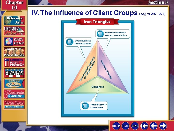 IV. The Influence of Client Groups (pages 297– 298)