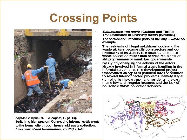 Crossing Points • • Zapata Campos, M. J. & Zapata, P. (2013). Switching Managua