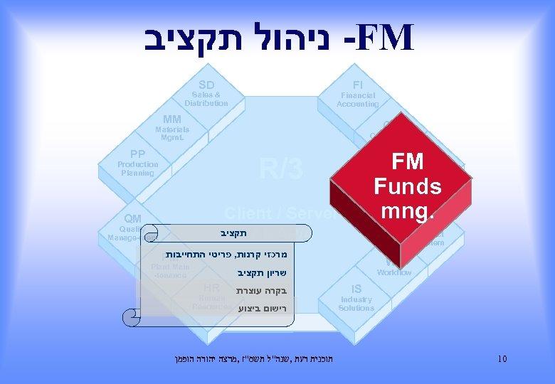 - ניהול תקציב FM SD FI Sales & Distribution Financial Accounting MM CO