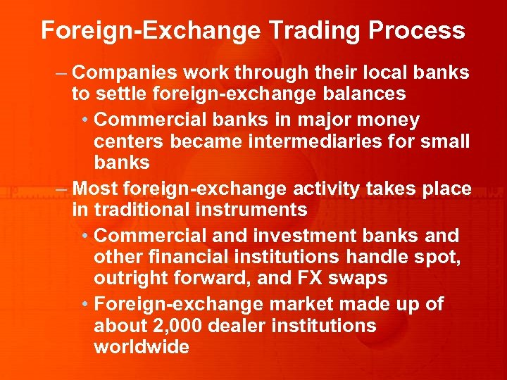 foreign exchange functions of commercial banks Functions of a commercial bank  2-8 functions of commercial banks agency functions  which fetches more foreign exchange the role of commercial banks in the.