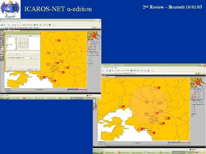 ICAROS-NET α-edition 2 nd Review – Brussels 16/01/03