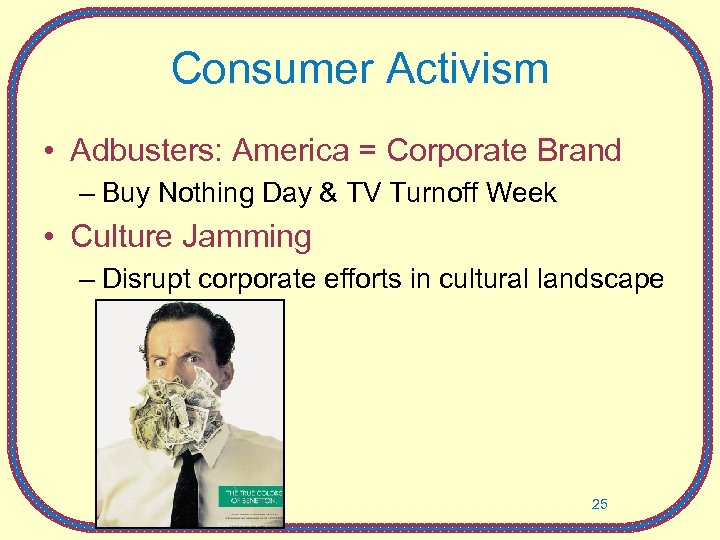 Consumer Activism • Adbusters: America = Corporate Brand – Buy Nothing Day & TV