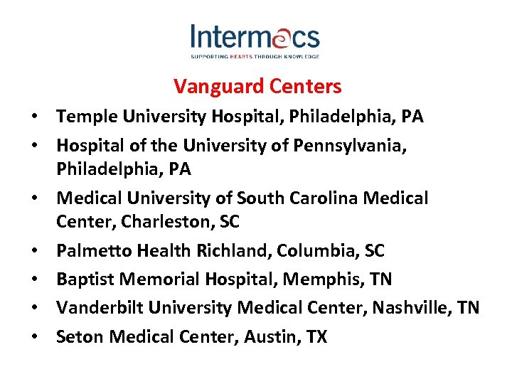 Vanguard Centers • Temple University Hospital, Philadelphia, PA • Hospital of the University of