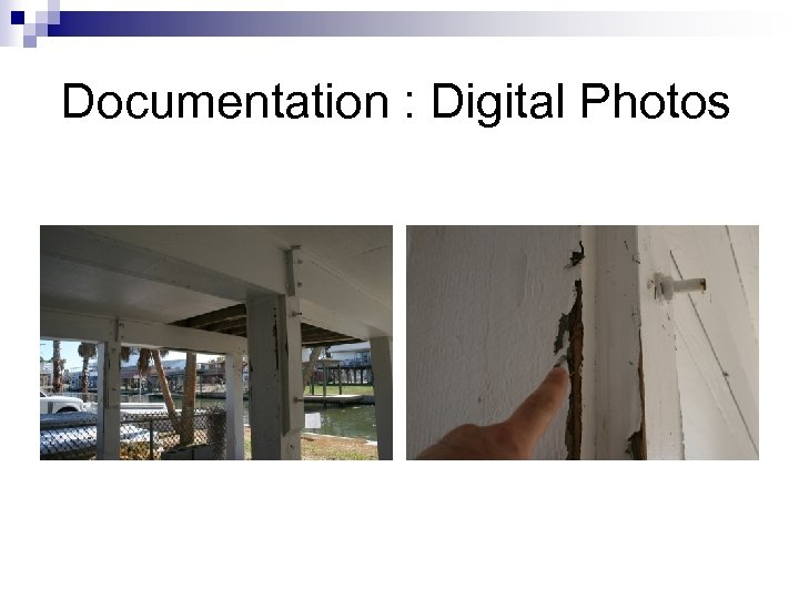 Documentation : Digital Photos