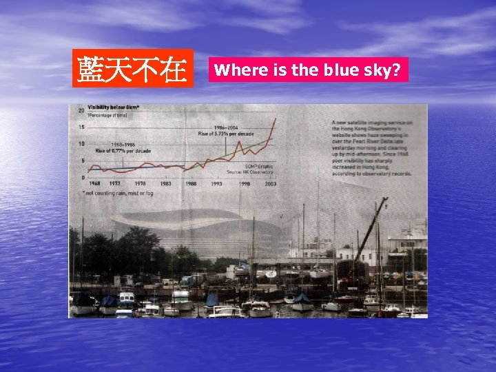 藍天不在 Where is the blue sky?