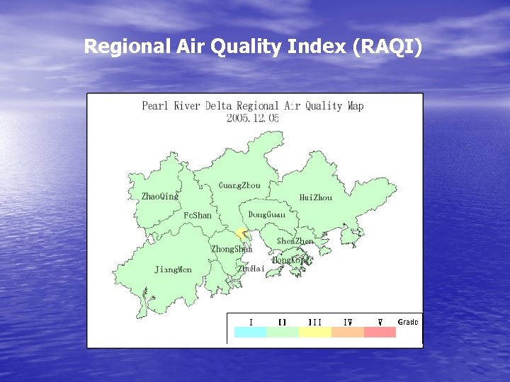 Regional Air Quality Index (RAQI)