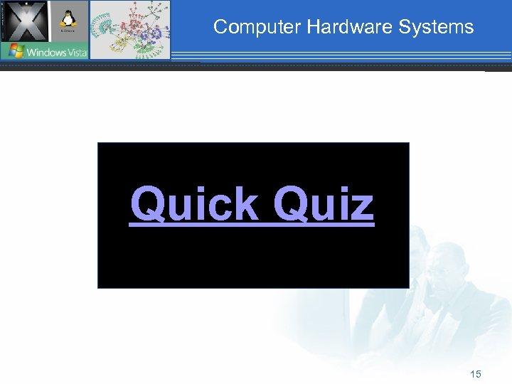 Computer Hardware Systems Quick Quiz 15