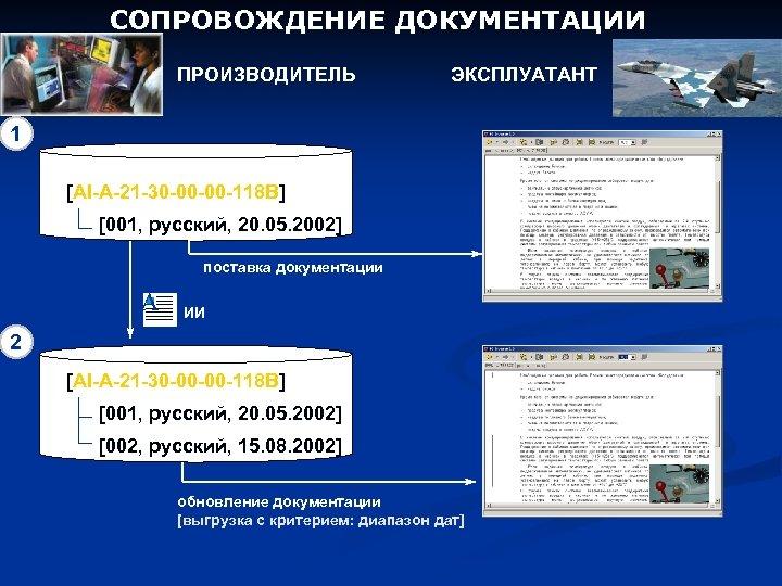 СОПРОВОЖДЕНИЕ ДОКУМЕНТАЦИИ ПРОИЗВОДИТЕЛЬ ЭКСПЛУАТАНТ 1 [AI-A-21 -30 -00 -00 -118 B] [001, русский, 20.