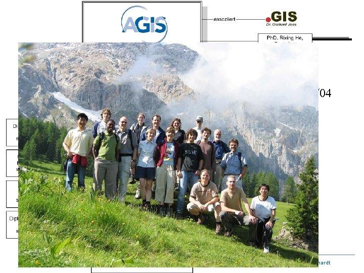 Stand: 06/04 Arbeitsgemeinschaft GIS Wolfgang Reinhardt