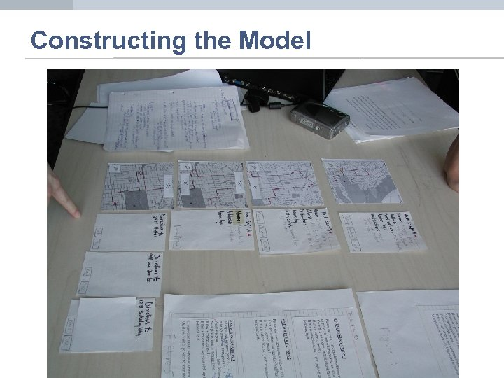 Constructing the Model