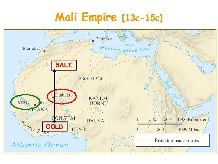 Mali Empire SALT GOLD [13 c-15 c]