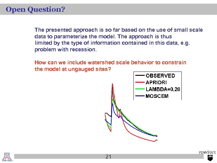 Open Question? The presented approach is so far based on the use of small