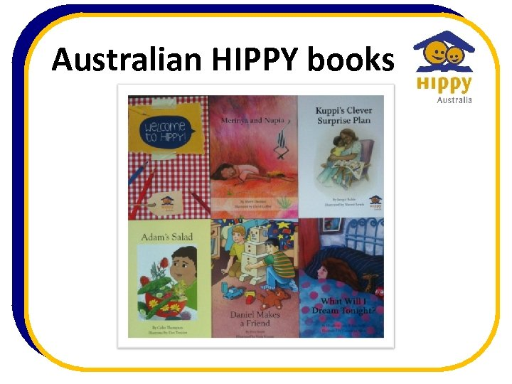 Australian HIPPY books