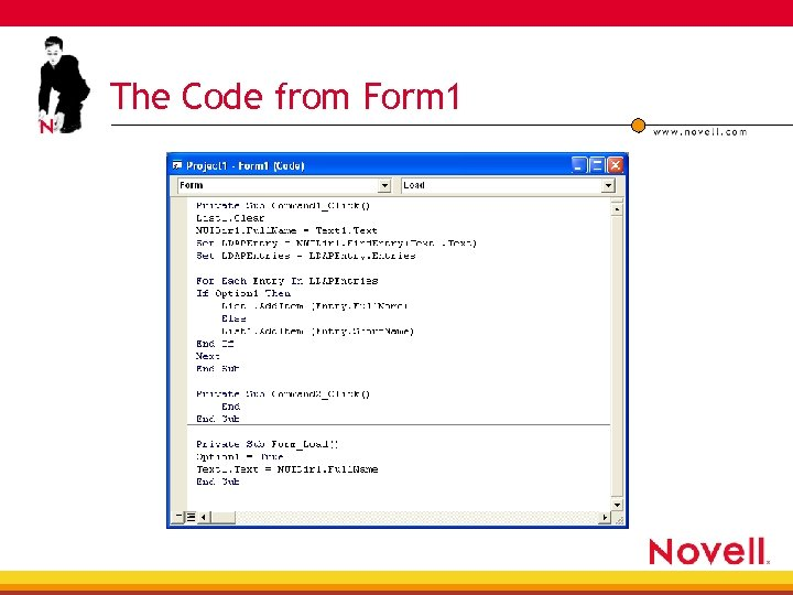 The Code from Form 1