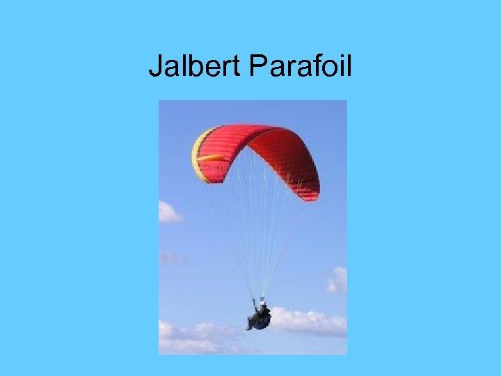 Jalbert Parafoil